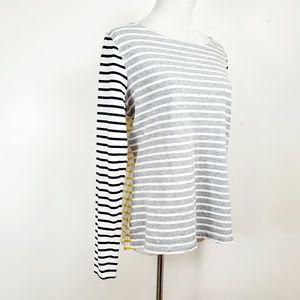 Boden Tops - Boden Womens Size 10 Top Long Sleeve Breton Stripe